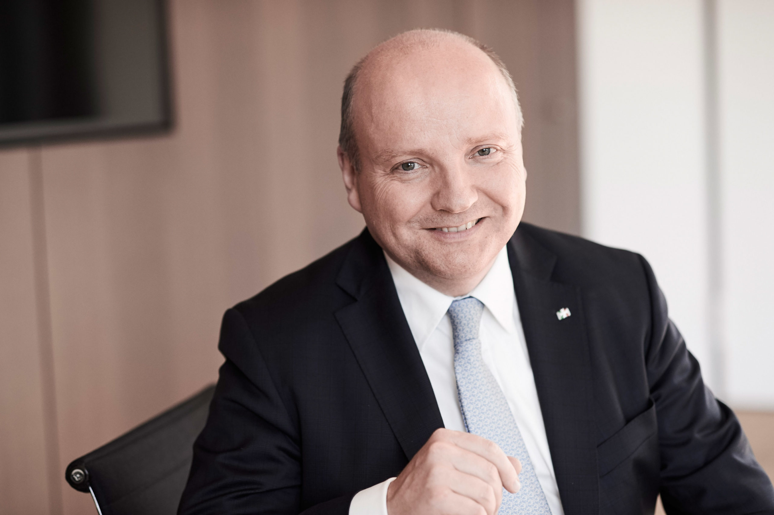 IHK-Präsident Dr. Benedikt Hüffer