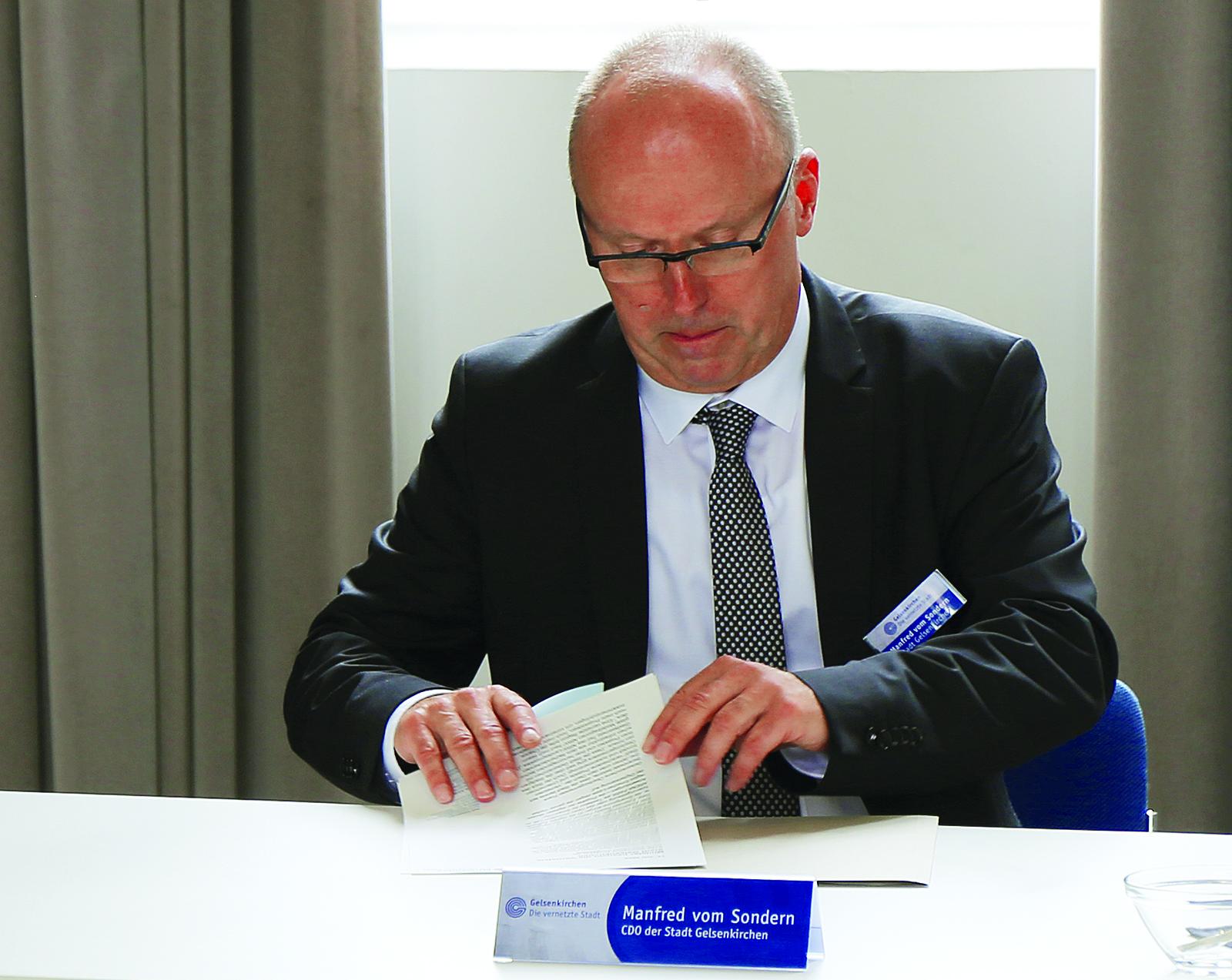 Manfred von Sondern, CDO Gelsenkirchen