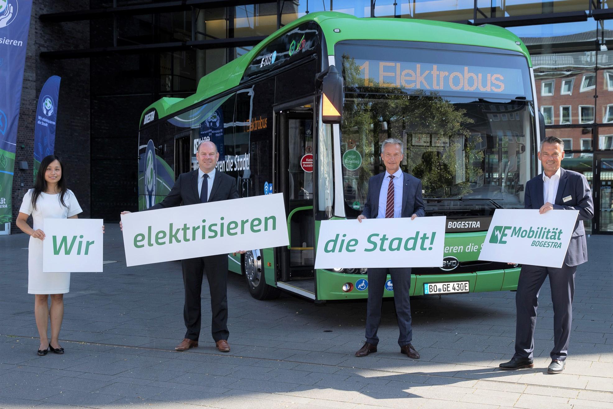 Bogestra: Erster Elektrobus für Gelsenkirchen