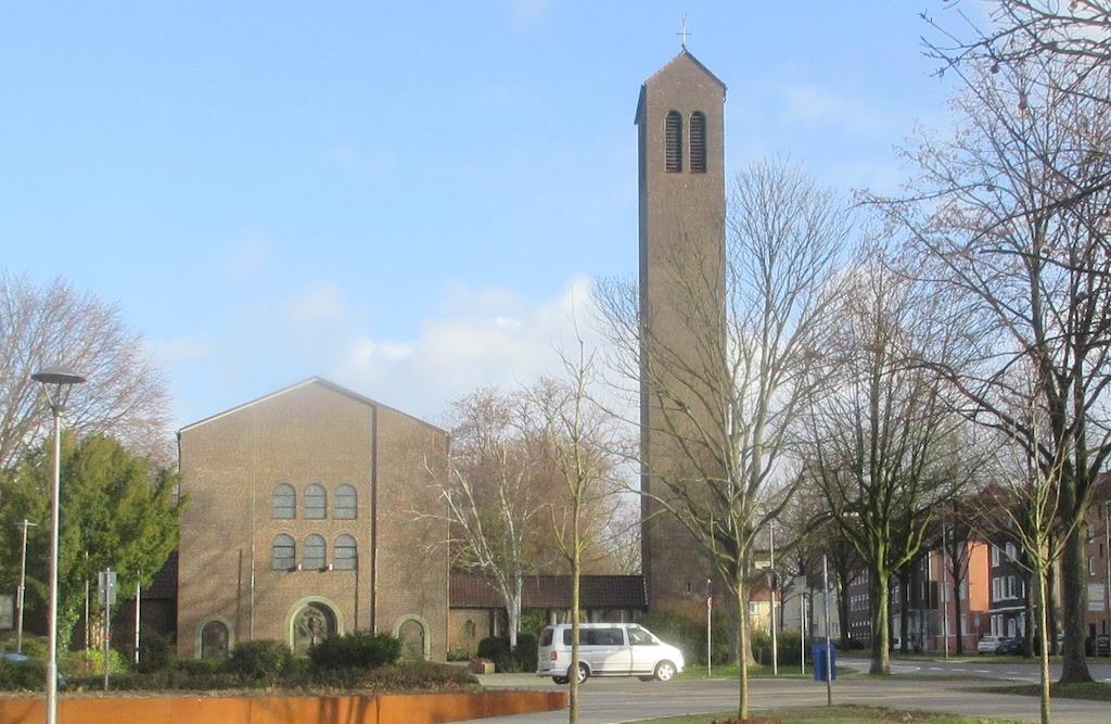 Die Kirche St. Mariä Himmelfahrt in Buer. –Foto: Spernol