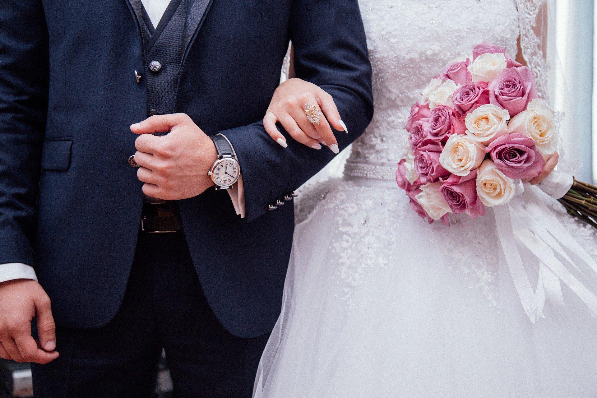 Der niedrige Corona-Inzidenzwert macht es möglich: Hochzeiten sind in Gelsenkirchen nun mit bis zu 15 Personen erlaubt.